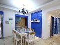 110平米地中海风格餐厅家具设计图