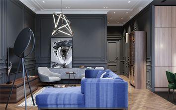 50平米一室一厅欧式风格客厅装修案例