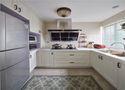 70平米田园风格厨房图片