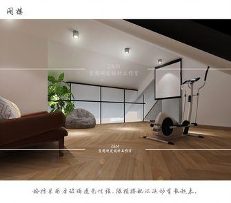 110平米三室一厅现代简约风格健身室图片大全