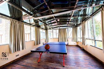 130平米三室两厅田园风格健身室图片大全