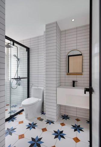 50平米公寓混搭风格卫生间设计图