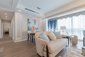 120平米三室两厅地中海风格客厅欣赏图