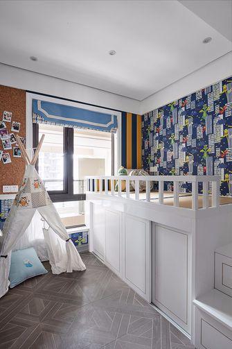 100平米三室一厅法式风格儿童房装修图片大全