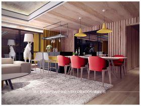 140平米四混搭風格餐廳裝修案例