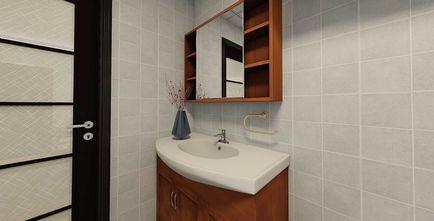 60平米一居室中式风格卫生间效果图