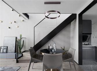 140平米复式英伦风格楼梯间装修案例
