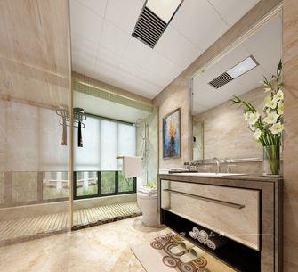 80平米三室两厅美式风格卫生间浴室柜装修效果图