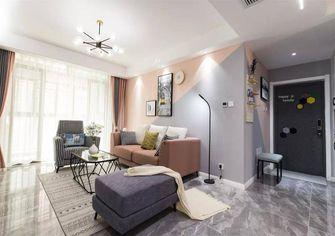 80平米三室一厅现代简约风格玄关设计图