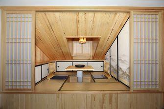 100平米复式混搭风格阁楼图