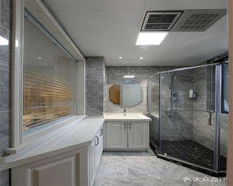 110平米三室两厅法式风格卫生间装修图片大全