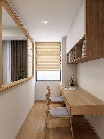 120平米三室两厅日式风格书房装修案例