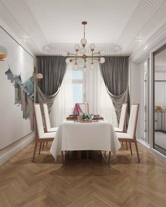豪华型140平米三室两厅欧式风格餐厅装修效果图