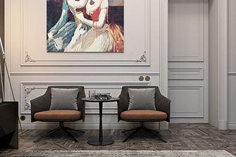 经济型130平米三室两厅英伦风格书房欣赏图