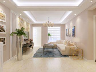 100平米三室一厅美式风格卧室飘窗装修案例