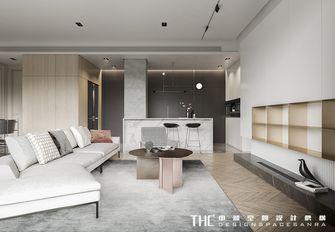 100平米英伦风格客厅装修案例