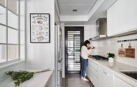 110平米北欧风格厨房设计图