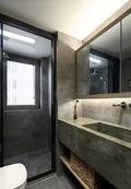 110平米三室五厅日式风格卫生间装修案例