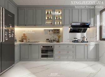 140平米三室两厅法式风格厨房图片