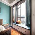 130平米三室三厅中式风格卧室欣赏图