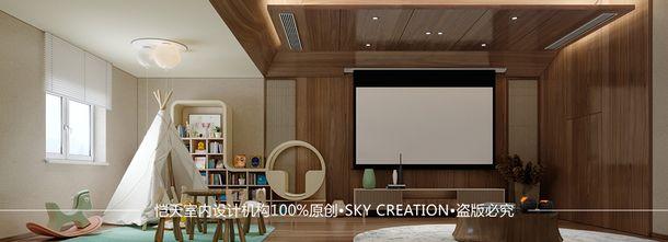 富裕型140平米别墅混搭风格阁楼设计图