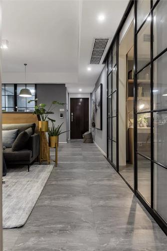 100平米三现代简约风格走廊图片