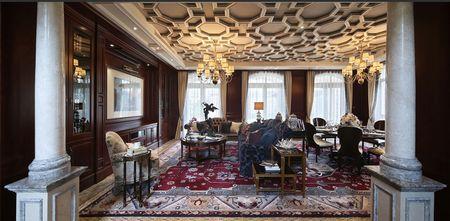 20万以上140平米四室三厅新古典风格客厅图片大全