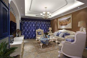 60平米一室一厅地中海风格客厅装修案例
