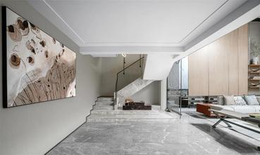 140平米三室两厅东南亚风格楼梯间图片