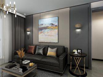80平米三室一厅现代简约风格客厅图片大全