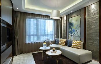 110平米三室两厅中式风格书房家具图
