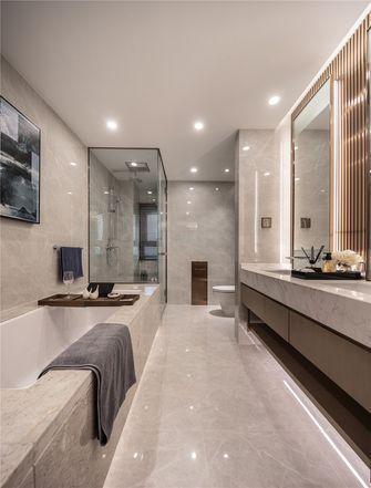 豪华型140平米三室三厅中式风格卫生间图片大全