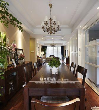 5-10万110平米三室四厅美式风格餐厅效果图