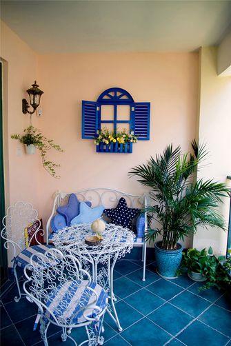 富裕型120平米三室两厅地中海风格阳光房欣赏图