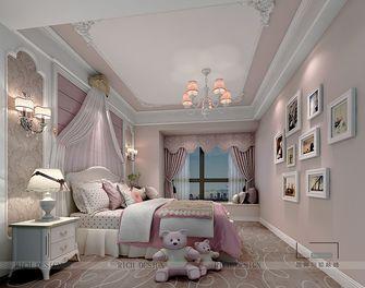 140平米三室一厅欧式风格儿童房欣赏图