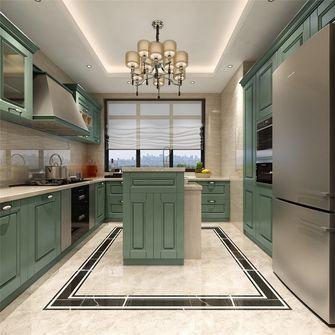 130平米三室两厅法式风格厨房欣赏图