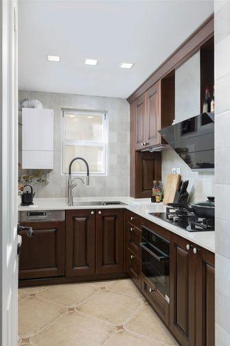 110平米美式风格厨房装修效果图