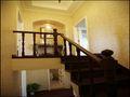 富裕型140平米别墅田园风格楼梯装修效果图