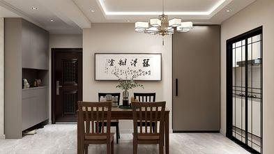 130平米三室一厅新古典风格玄关欣赏图