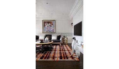 120平米四室两厅混搭风格影音室设计图