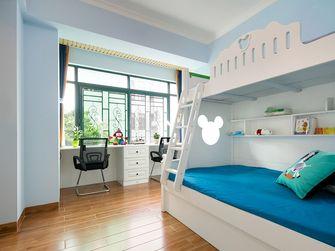 120平米四室一厅田园风格儿童房设计图