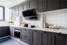 90平米三室两厅美式风格厨房设计图