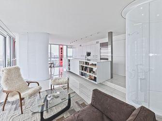 80平米三室一厅英伦风格客厅图片