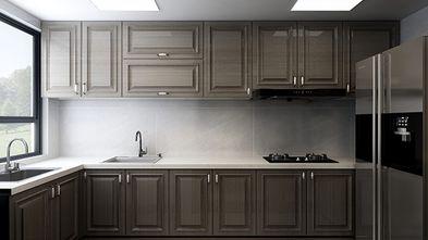 140平米四室一厅新古典风格厨房图片