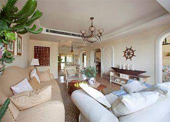 70平米三室两厅地中海风格客厅图片