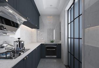 90平米三室三厅美式风格厨房装修效果图