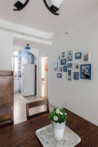 110平米三室两厅田园风格厨房欣赏图