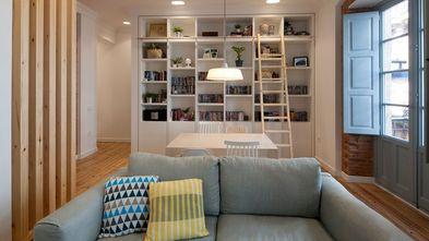 50平米一居室宜家风格客厅欣赏图
