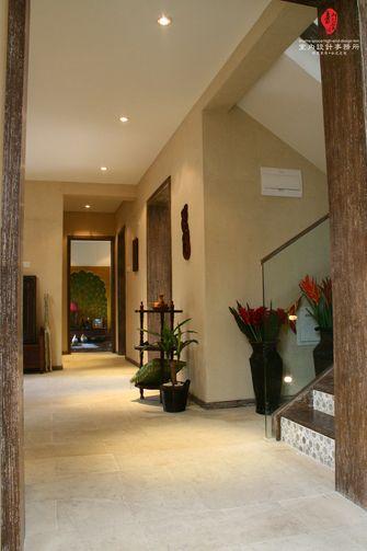 富裕型140平米别墅东南亚风格走廊装修图片大全
