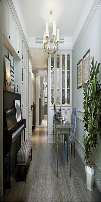 80平米复式美式风格客厅图